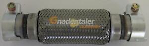 Flexrohr-Flexstueck-flexibles-Kruemmerrohr-Hosenrohr-50x200x300mm-mit-Schellen