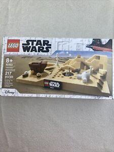 LEGO Star Wars Tatooine Homestead (40451). Brand New, Sealed. 217 pcs 2021