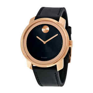 Movado-Bold-Black-Dial-Men-039-s-Watch-3600376