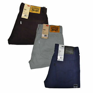 Levis 508 Jeans Para Hombres Calce Regular Conico Pantalones Informales Pantalones De Mezclilla 29x30 29x32 Ebay