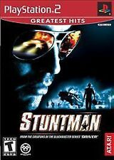 STUNTMAN GREATEST HITS Video Game Sony PlayStation 2 PS2 From Creator Of DRIVER