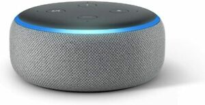 NEW-Amazon-Echo-Dot-3rd-Generation-Smart-Speaker-with-Alexa-Gray