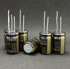 6Pcs Japan ELNA 100uF/100V RFS SILMIC II High-END Series HIFI Audio Capacitor