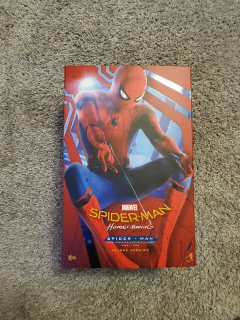 Spider-Man Homecoming Hot Toys Deluxe 1/6 MMS426 with shipper Marvel Read Desc