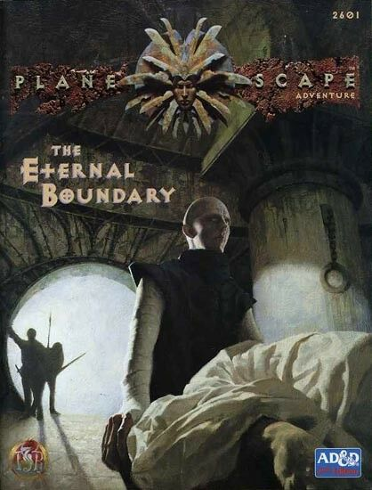THE ETERNAL BOUNDARY VF  Planescape Dungeons Dragons Module TSR Plane Scape 2601