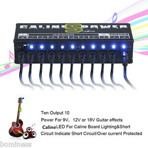 cp 05 professional 10 isolated output power supply for guitar effect pedals us 657419511612 ebay. Black Bedroom Furniture Sets. Home Design Ideas