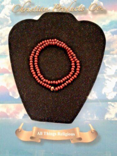 Men//Women Dark Red Sandalwood Tibetan Buddha meditation bracelet