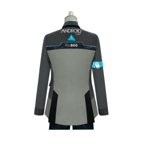 Become Human RK800 Connor Cosplay Costume Complete Outfit Jacket*coat 0 Detroit