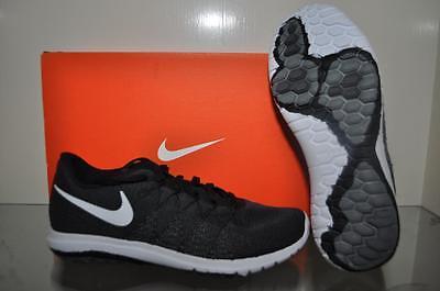 Nike Flex 2016 RN Grade School Boys Kids Running Shoes 834275 004 Black//Volt NIB