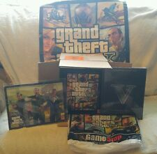 RARE XBOX 360 GRAND THEFT AUTO 5 COLLECTORS EDITION W/ L.E. STRATEDGY GUIDE!