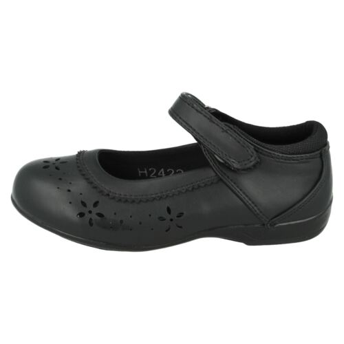 Girls Cool 4 School Black Shoes UK Sizes 10-2 H2422