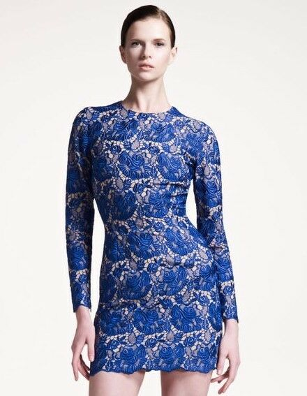 Stella Mccartney Celia Guipure dress MSRP ,145 size 4