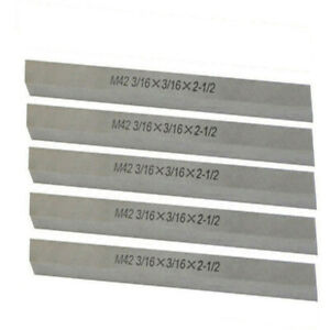 5 Pc M42 1//2/'/' x 1//2/'/' x 4/'/' Cobalt Steel Square Tool Bit Lathe Fly Cutter Mill