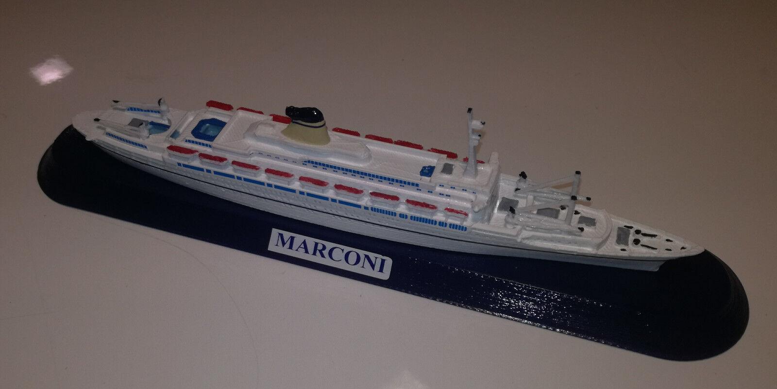 GUGLIELMO MARCONI , Lloyd Triestino , Italia Line , Costa model ship sc 1 1250