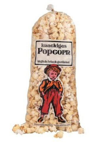 Popcorn Mittlerer Lausbub 100 g 2 Liter  50-1000 Stück Top Angebot