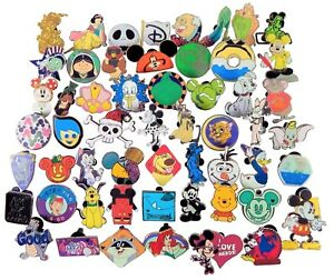 Disney-Pin-Trading-40-Assorted-Pin-Lot-Brand-NEW-Pins-No-Doubles-Tradable