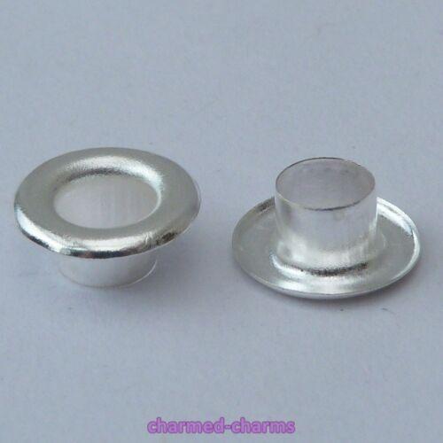 5.3mm Hole European Cuentas De Estilo Núcleo de plata chapado 5mm agujero insertos para adaptarse a