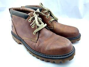 m col de 5 Hiking M en cuir Padded pouces Collar Brown 10 10 Boots de 5 Work pour Chukka rembourré homme Leather chukka 5 5 randonnée Bottes Mens de Timberland marron 5qfWpUOtg