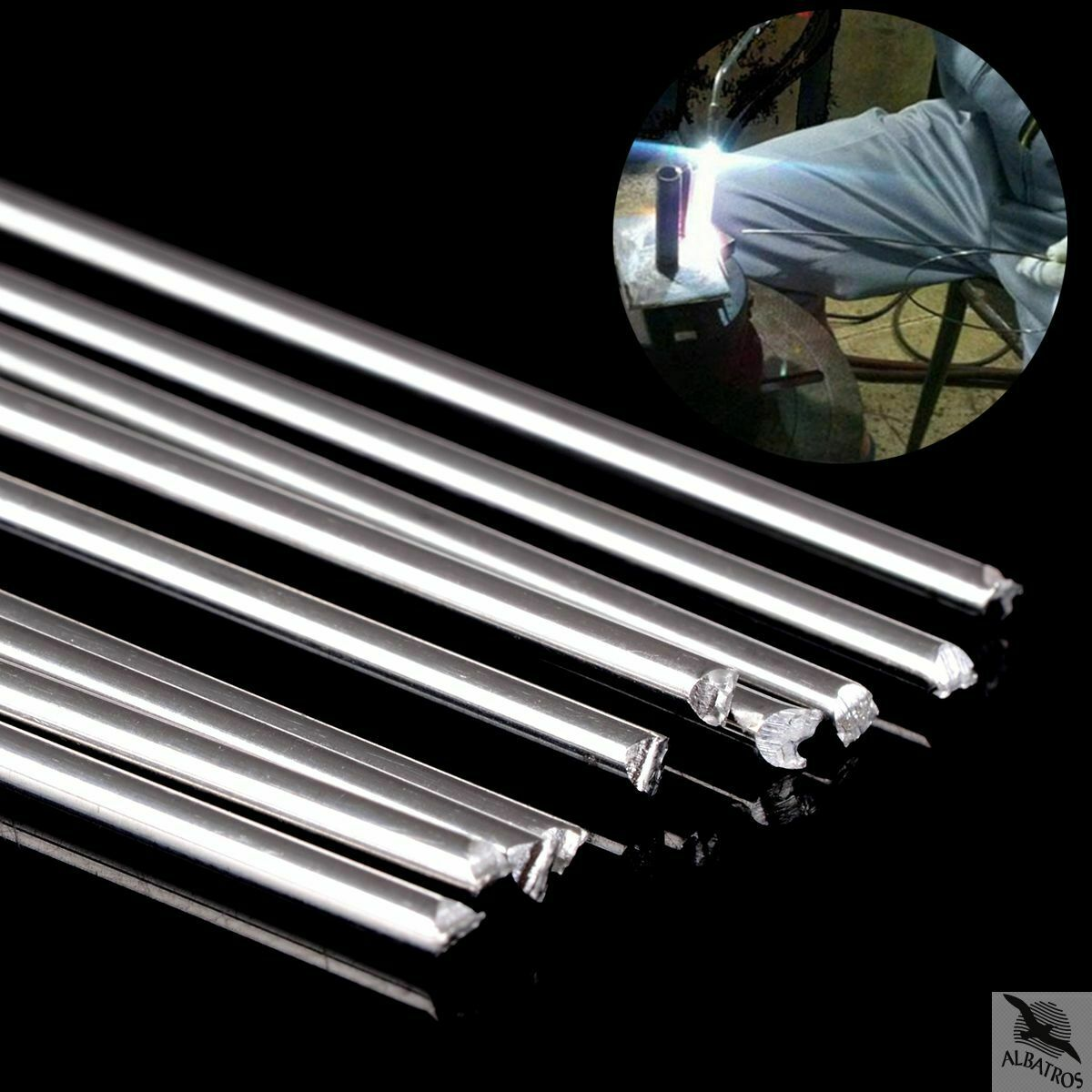 Easy Melt Welding Rods___ 10pcs - 1.6mmx45cm - Free Shipping 3