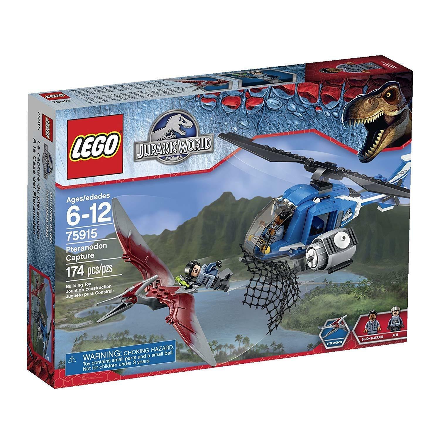 LEGO Jurassic World Pteranodon Capture (75915) BRAND NEW / FACTORY SEALED