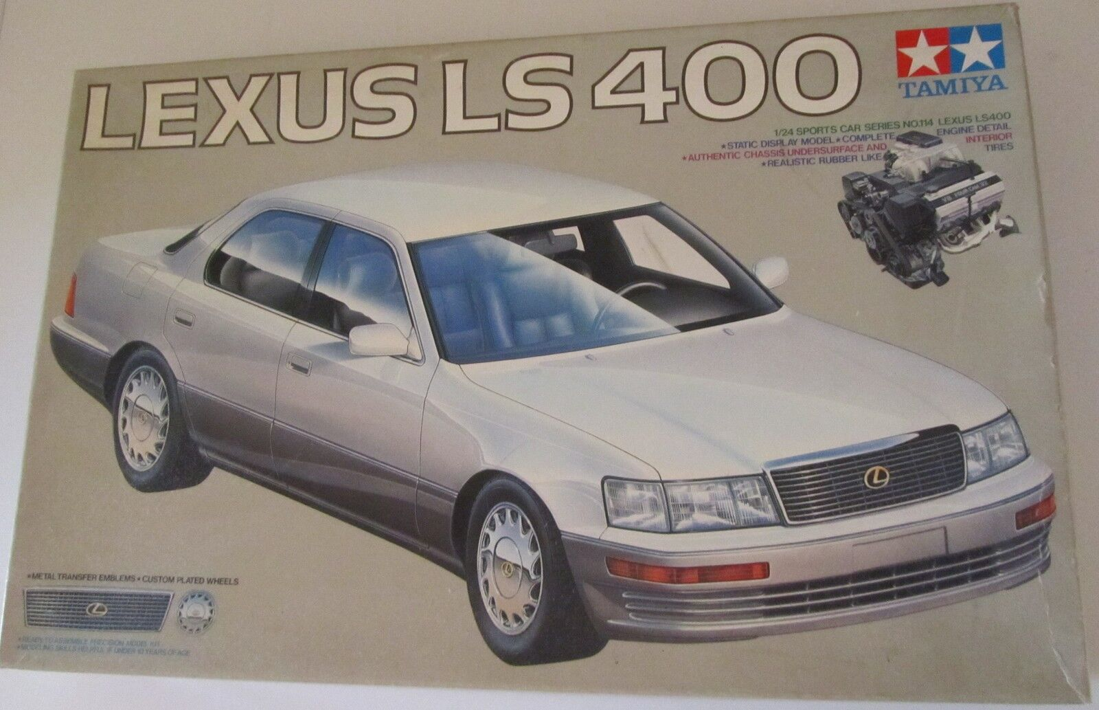 Modellino Tamiya Lexus LS 400 1 24 no. 114
