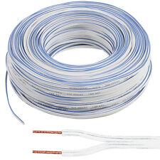 50M Speaker Cable - 0.5MM 20 AWG 33 Strand - Car HiFi Audio Wire Reel CCA Loud