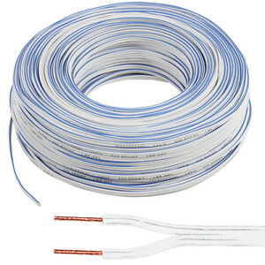 100m lautsprecher kabel 0 5mm 20 awg 33 strang car hifi audio draht rolle cca ebay. Black Bedroom Furniture Sets. Home Design Ideas