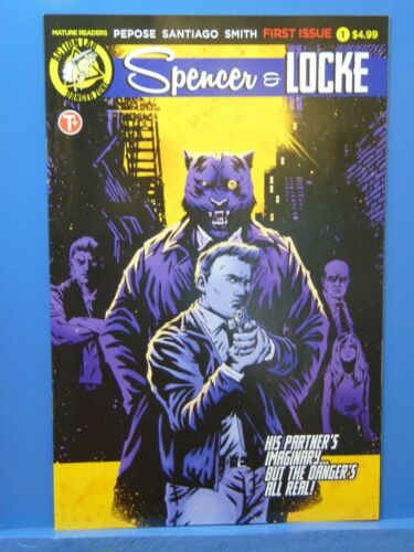 Spencer /& Locke #1  Action Lab Comics Mature  CB12286