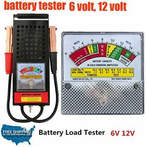 Details About 12v Clamp On Auto Car Battery Voltage Load Volt Starter Tester Test Testing Tool