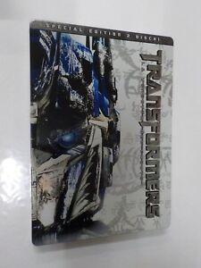 Transformers-Vendetta-Caduto-Film-2-DVD-Steelbook-COMPRO-FUMETTI-SHOP