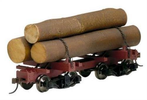 Bachmann 27391 0n30 Skeleton Log Cars 3