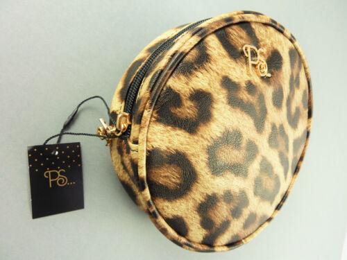 Leopard Damen Tasche Clutch Handtasche Rockabilly Makeup Kosmetiktasche Primark