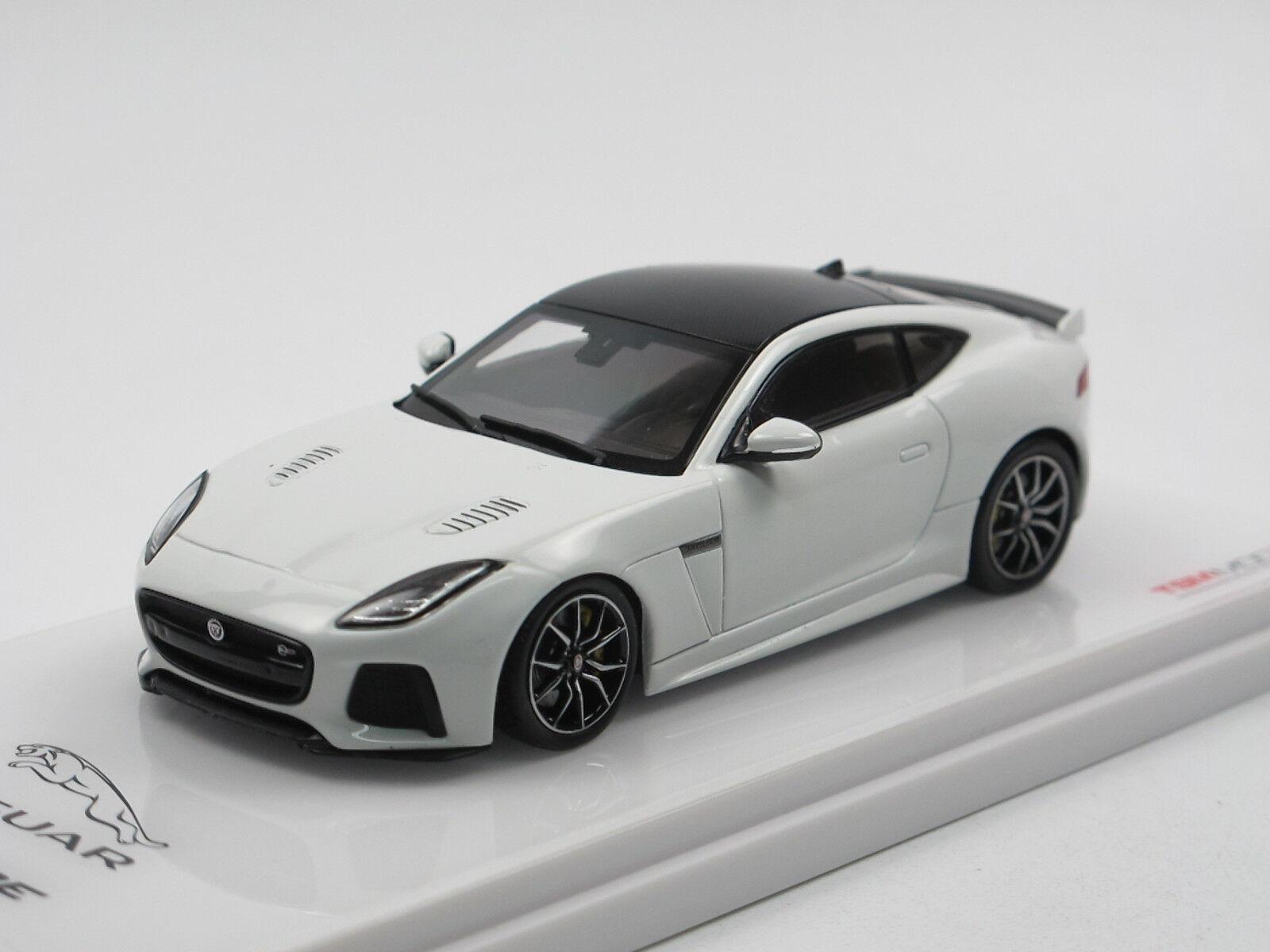 TSM Model TSM430146 - Jaguar F-Type - Baujahr ab 2014 - Glacier White - 1 43