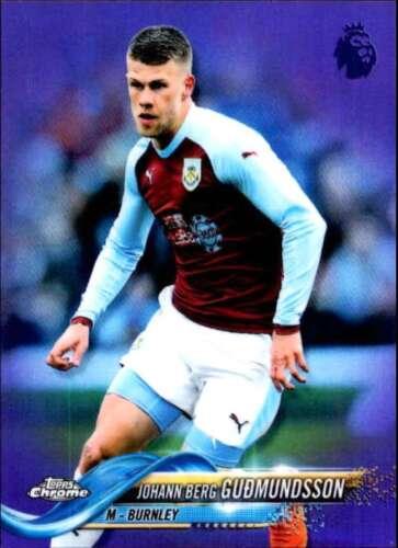 elige tus jugadores 2018-19 Topps Chrome English Premier League Soccer Base