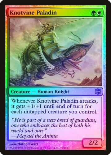 Knotvine Paladin FOIL Alara Reborn NM White Green Rare MAGIC MTG CARD ABUGames
