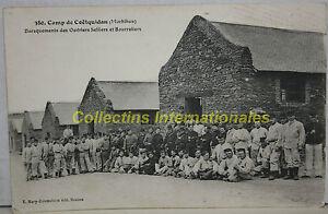 Coetquidam-Baraquements-des-Ouvriers-Selliers-et-Bourreliers-carte-postale