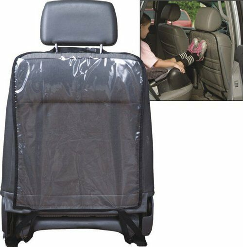 1x Car Accessory Auto Seat Back Protector Cover Backseat For Children Kick Mat