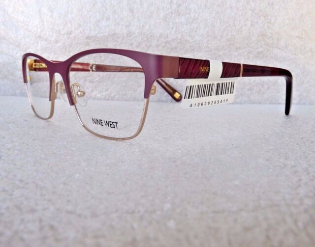 Nine West Nw1072 602 Eyeglasses Glasses Frames 52-17-135 Burgundy ...