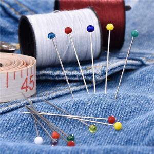 con-cabeza-de-vidrio-Locating-pin-Agujas-de-coser-Cabeza-de-Cristal-Murano