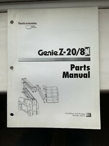 GENIE-SERVICE-Z-20-8-amp-Pieces-Manuel