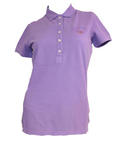 Sheer Lilac Poloshirt Napapijri Elma e qfRnwFz7z
