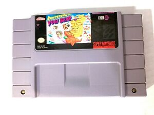 Adventures-Of-Yogi-Bear-SUPER-NINTENDO-SNES-Game-Tested-WORKING-amp-Authentic