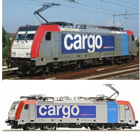 E-Lok 79653 486 railpool SBB-CFF-FMS-Cochego ep6 h0-ac Digi nuevo embalaje original