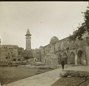Gerusalemme-Foto-Stereo-Vintage-Placca-da-Lente-VR2L11n9