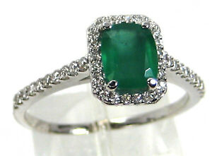 Emerald-Ring-14K-White-gold-Zambian-Halo-Diamond-Natural-Heirloom-1-69Ct-3-225