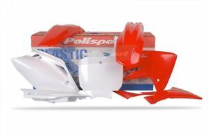 Polisport Plastic Kit Set Red Complete HONDA CRF250R 2006-2007
