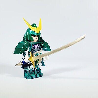 ⎡MINIFIGS FACTORY⎦Custom Ronin Warriors Sage Date Lego Minifigure