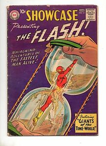 Showcase-14-4TH-APP-The-FLASH-VG-F-5-0-KEY-BOOK-1958-ORIGIN-DR-ALCHEMY