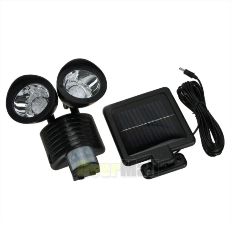 New 22 LED Solar Powered Motion Sensor PIR Security Light