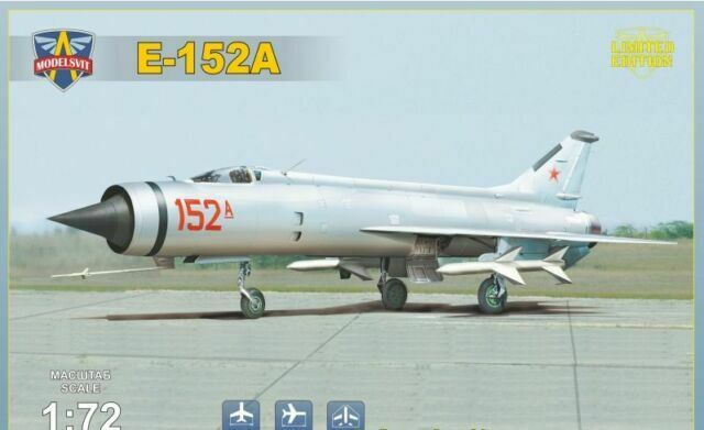 ModelSvit kit 72029 1:72nd scale I-75 Advanced soviet interceptor prototype